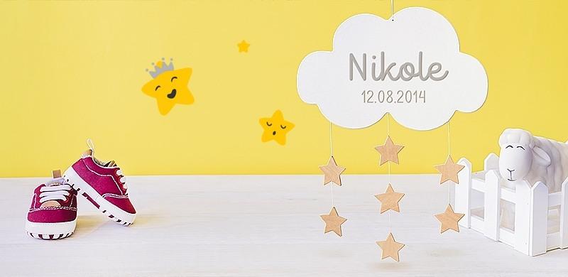 Personalisierte Babygeschenke Mit Namen Littlestars Shop